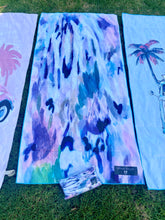 Load image into Gallery viewer, Blue Rise  Inkheart sand free Suede Beach Towel