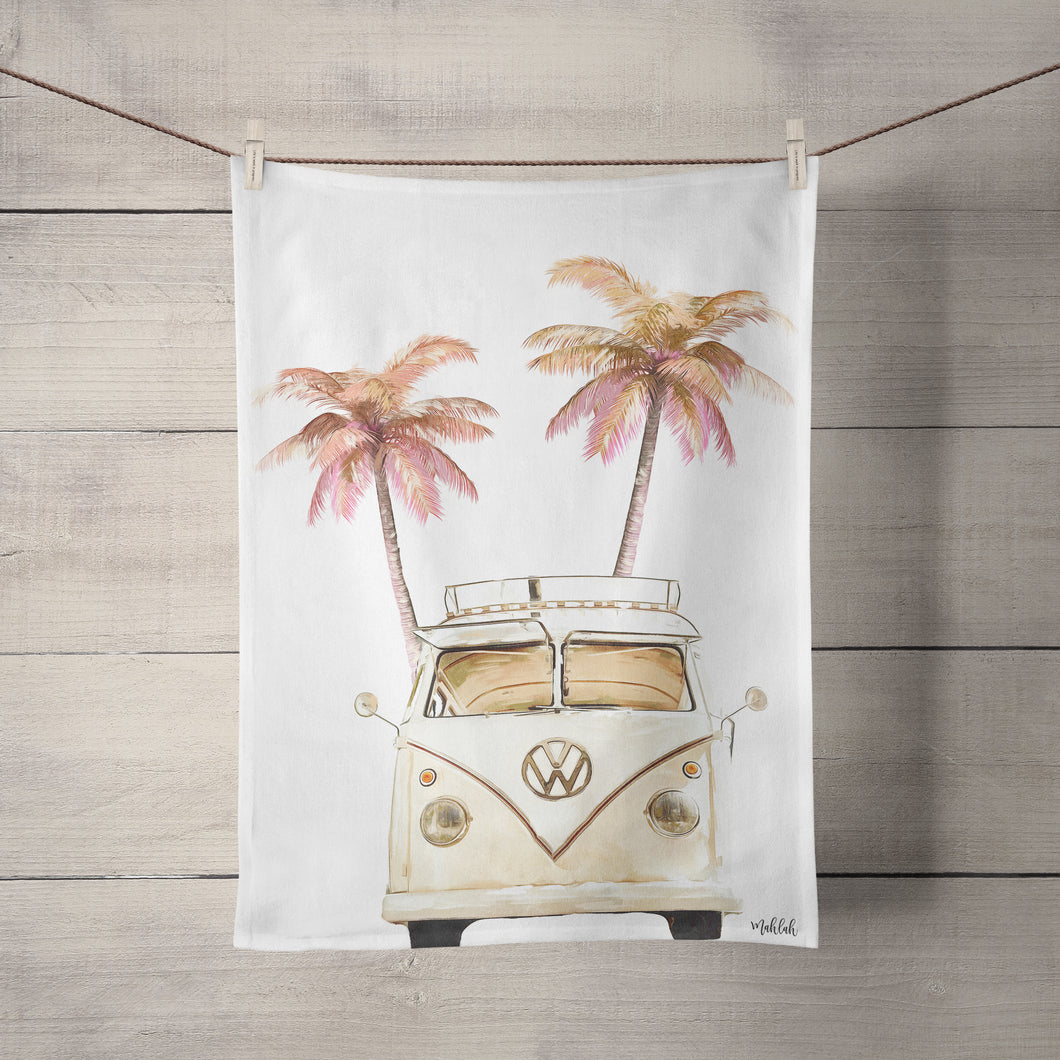 100% Cotton Tea Towel-Kombi