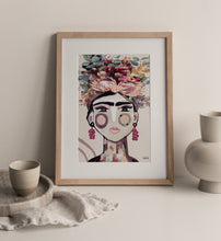 Load image into Gallery viewer, Frida (Warm) Canvas Print
