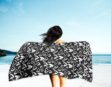 Load image into Gallery viewer, Inkheart Suede Beach Towel
