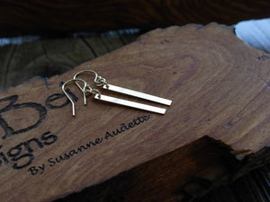 14kt Gold Filled Bar Earrings