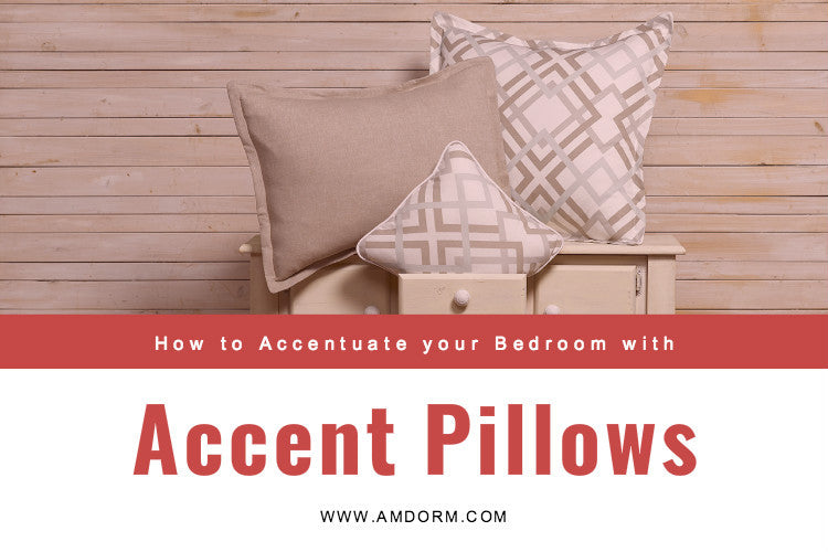 Update Your Bedroom with Accent Pillows