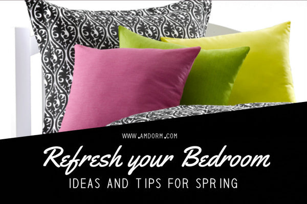 Ideas and Tips to Refresh Your Bedroom for Spring
