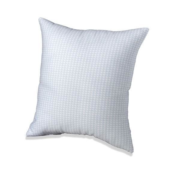 Powder Blue mini houndstooth throw pillow by American Made Dorm & Home