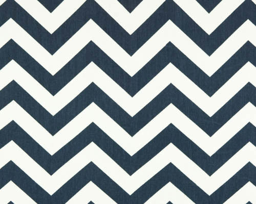 Navy Chevron Curtains by American Made Dorm & Home