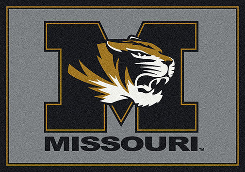 University of Missouri Spirit Rug