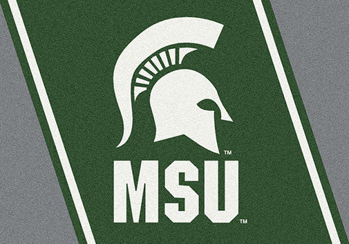 Michigan State University Spirit Rug