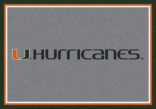University of Miami Spirit Rug