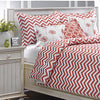 Coral Chevron Dorm Bedding by American Made Dorm & Home