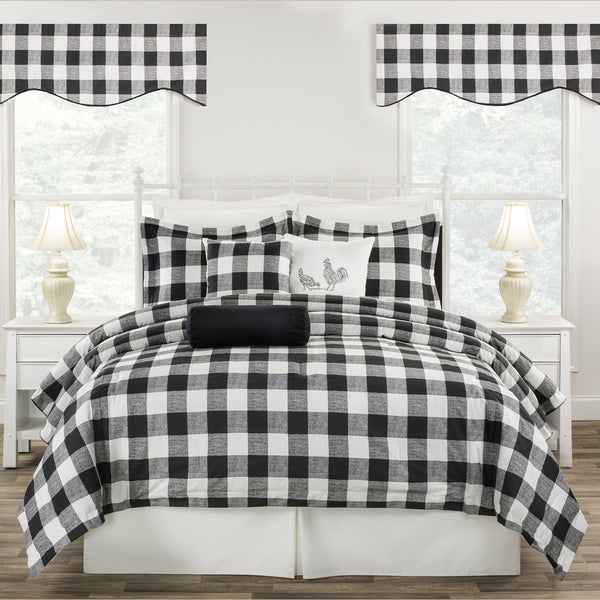 Cottage Classic Black Bedding Set