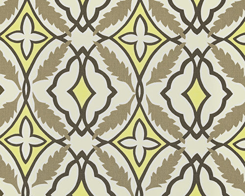 Gray and Yellow Eden Valance