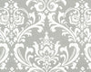Gray Damask Headboard