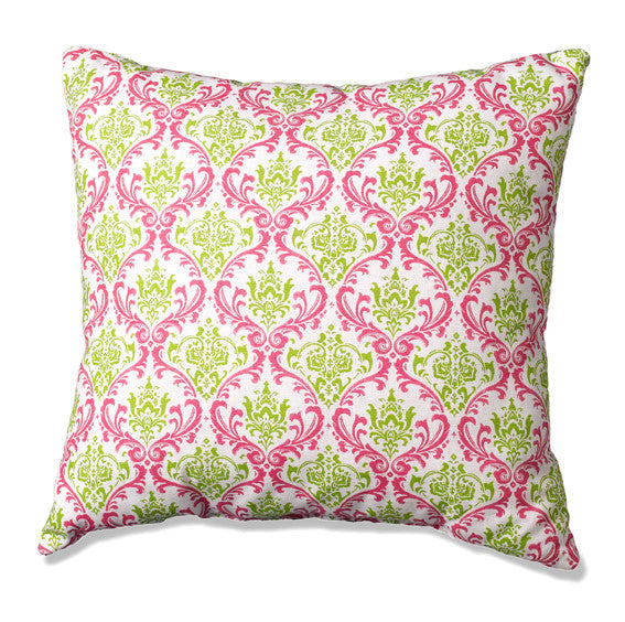 Pink and Green Throw Pillows by American Made Dorm & Home