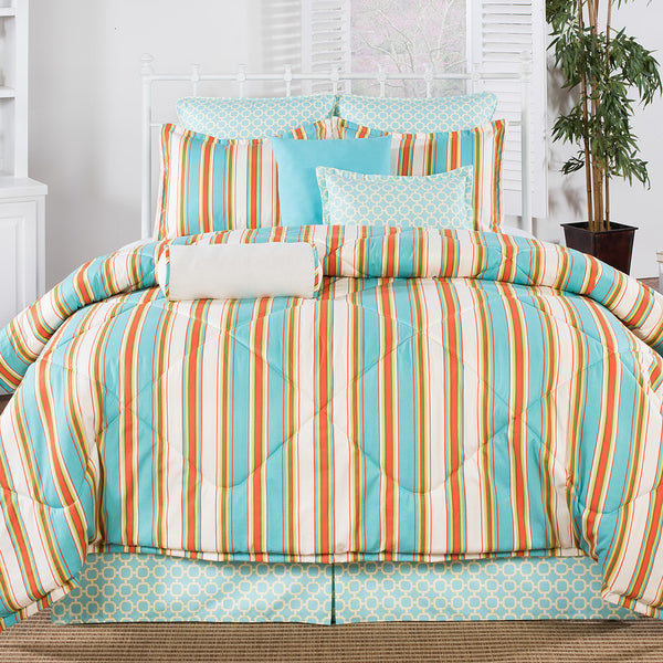 Martinique Comforter Set by Victor Mill