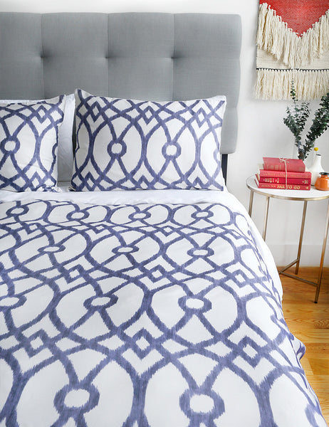 Piper Indigo Duvet Set
