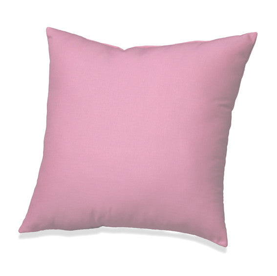 Pink Solid Accent Pillow
