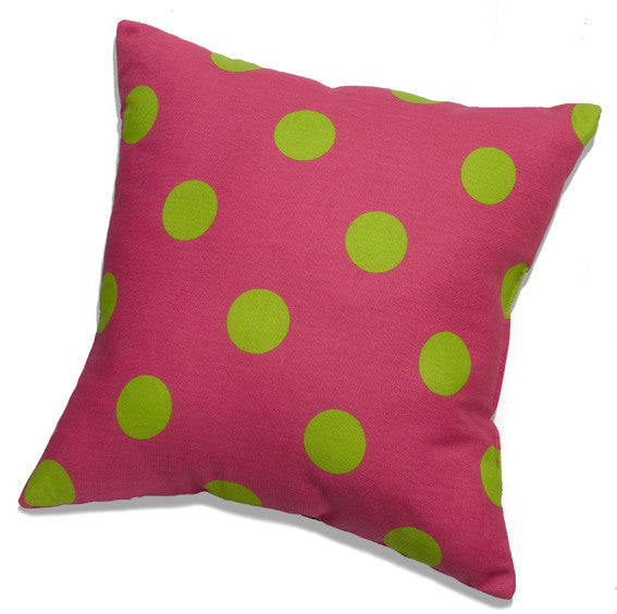 Preppy Dots Accent Pillow by American Made Dorm & Home