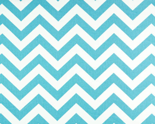 Tiffany Blue Chevron Window Valance by American Made Dorm & Home