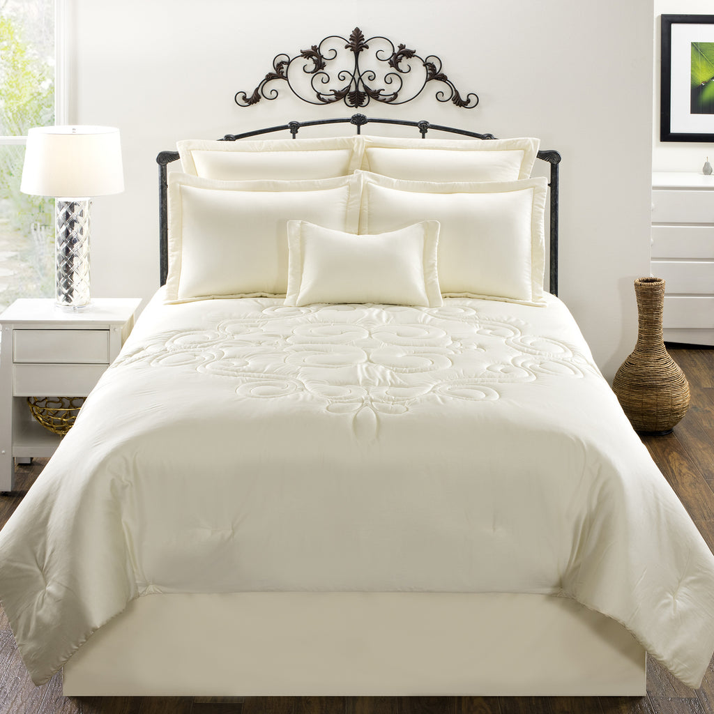 Waldorf Cream Bedding Set