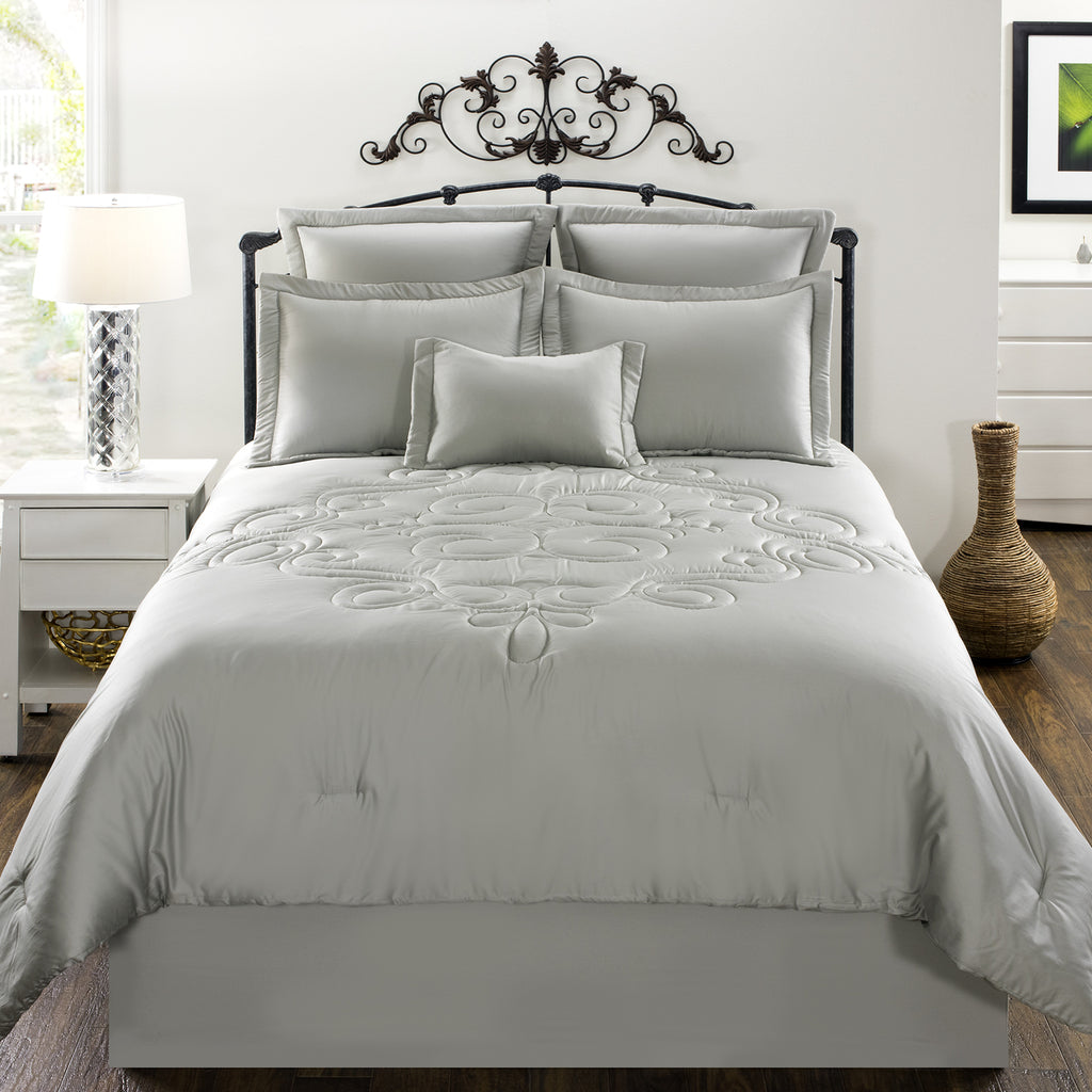 Waldorf Gray Bedding Set