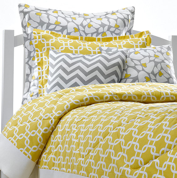 Yellow Metro Dorm Bedding American Made Dorm Amp Home