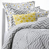 Gray Chevron College Bedding by American Made Dorm