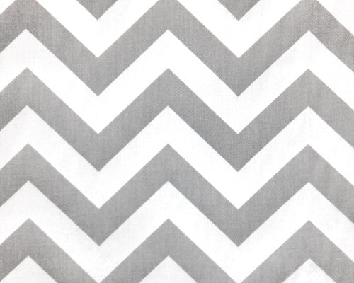 Gray Chevron Window Valance from Liz and Roo
