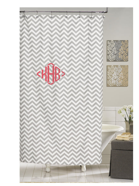 Gray Chevron Shower Curtain Sold Out American Made