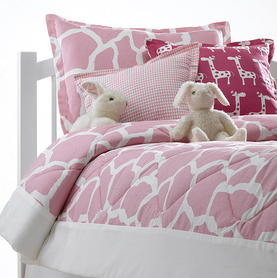 pink giraffe comforter by American Made Dorm & Home