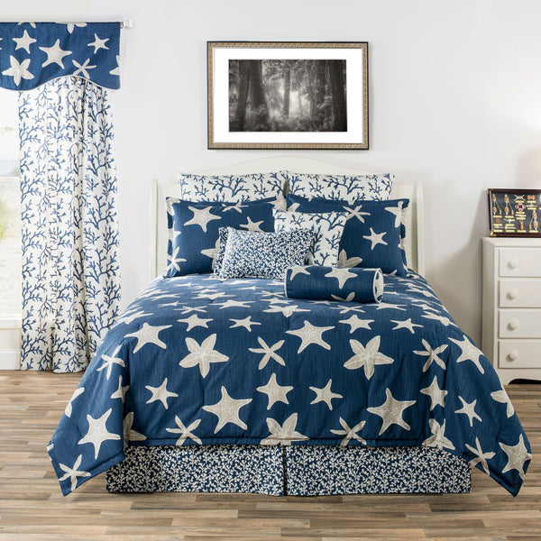 Palm Beach (Blue) Bedding Set
