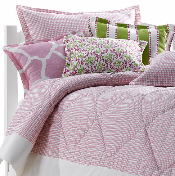 Pink Princeton Dorm and Toddler Bedding from American Made Dorm & Home