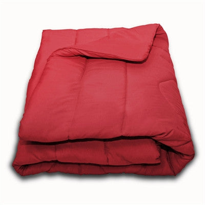 Solid Red Twin Extra Long Comforter by American Made Dorm & Home