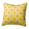 Yellow Metro Accent Pillow by American Made Dorm