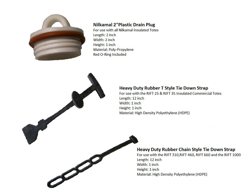 Commercial Tote Parts