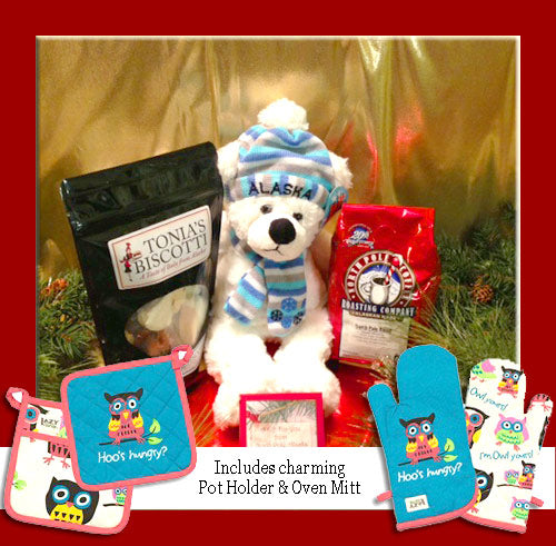 North Pole Coffee and Alaska Critter Package - santaslettersandgifts