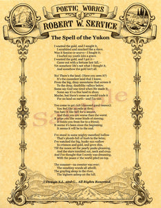 Robert Service Poetry - santaslettersandgifts