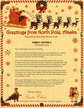 Load image into Gallery viewer, FAMILY: Deluxe Santa Letter & Tube - santaslettersandgifts