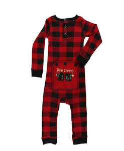 Baby Flapjacks - Traditional Red and Black Plaid