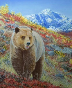 Alaska Wildlife Print: The Great One - santaslettersandgifts