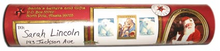 Load image into Gallery viewer, Sample of custom North Pole, Alaska mailing tube featuring a photo of Santa, North Pole postmark and made in Alaska symbol. Available from Santa's Letters and Gifts in North Pole, Alaska.