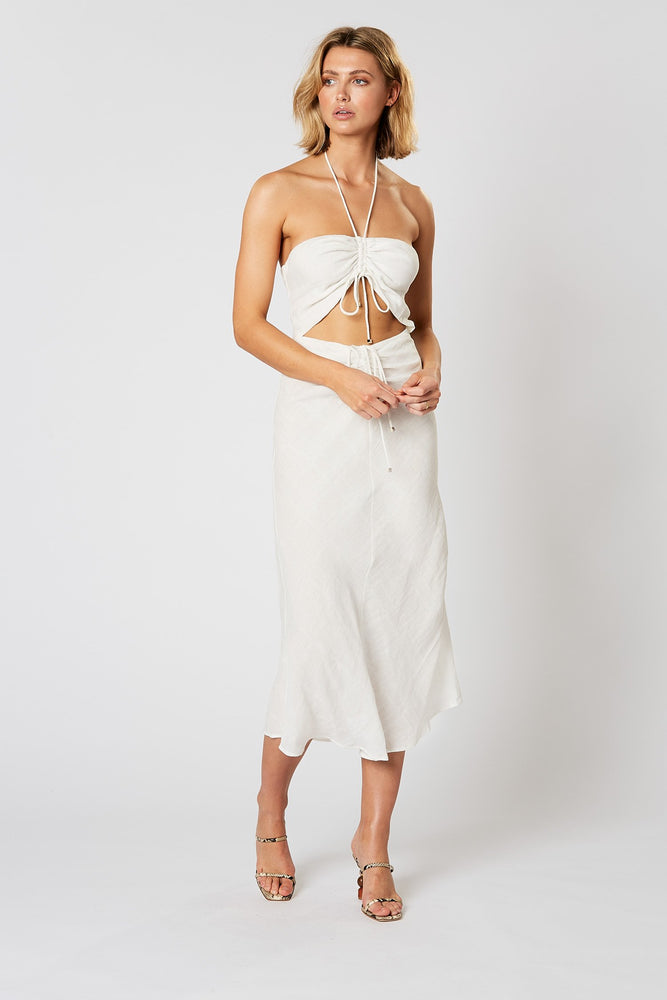 Voyage Drawstring Dress by Winona