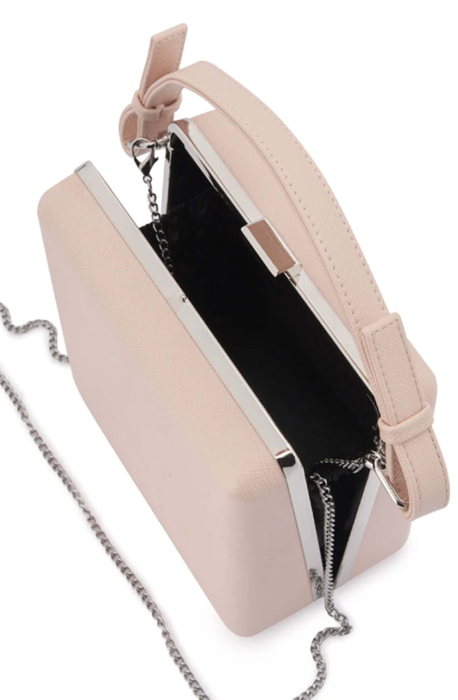 Ashley Blush Saffiano Top Handle by Olga Berg