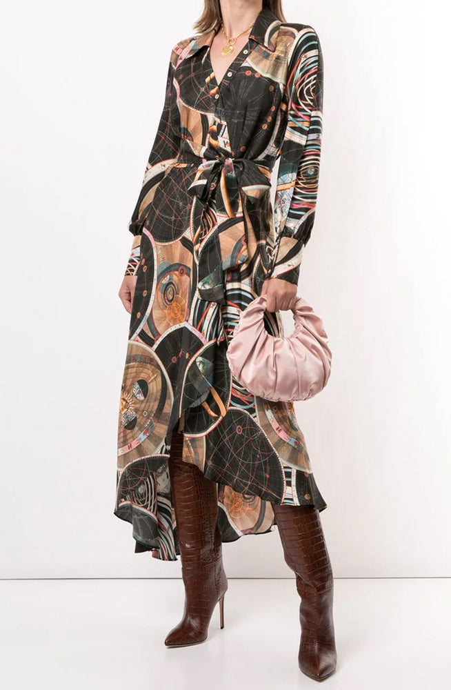 Astrology Wrap Dress by Ginger & Smart