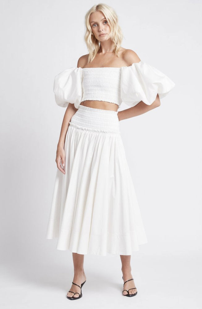 Cascade Cropped Top and Skirt by Aje
