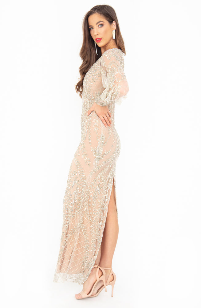 Silver Lining Gown by HSH