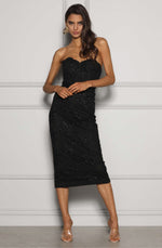 Germaine Black Dress by Elle Zeitoune