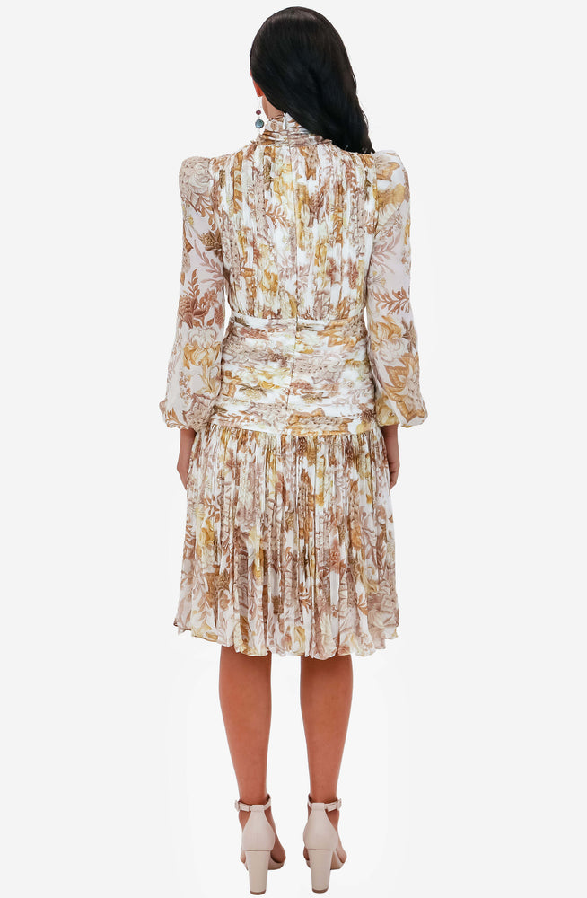 Saffie Print Dress by Thurley