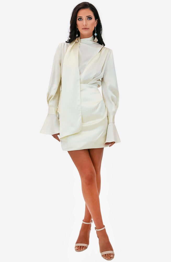 Soto Cream Dress by Acler