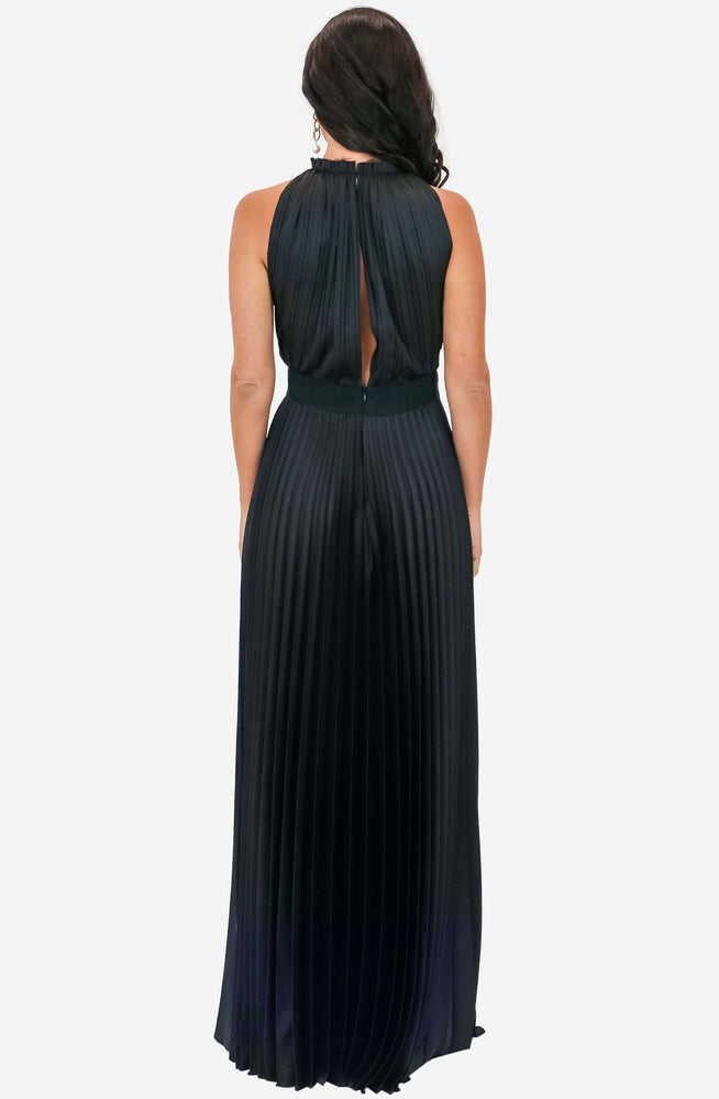 Pleated Maxi Dress Archive by Grace & Hart