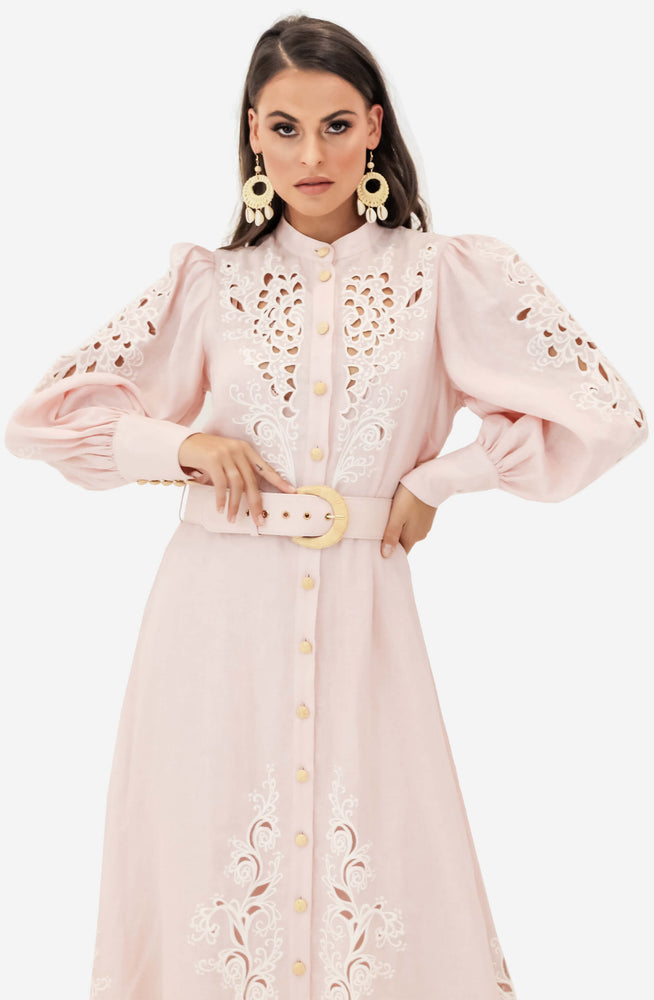 Freja Embroidery Dress by Zimmermann